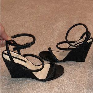 Zara Wedges - Classic All Black